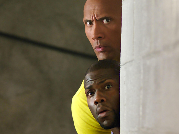 Dwayne Johnson and Kevin Hart from 'Central Intelligence'
