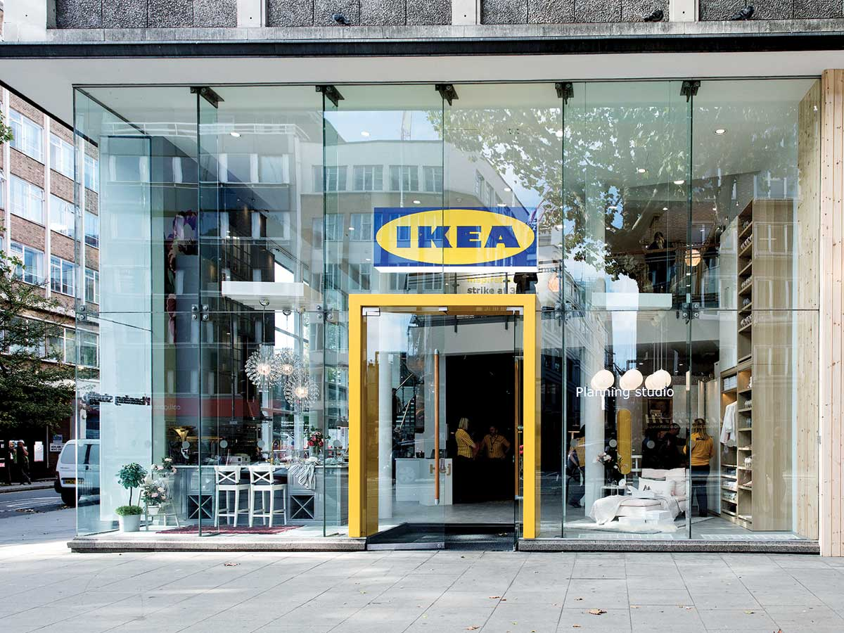 "IKEA'S ""planning studio"" in central London"