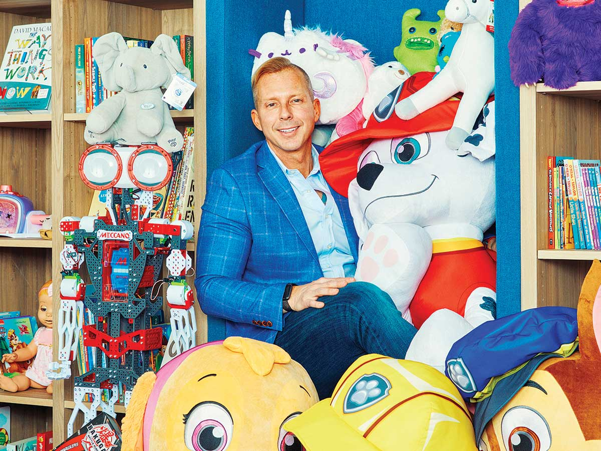 Montreal Map Canada Gadbois The CPA who saved Canada's biggest toy company