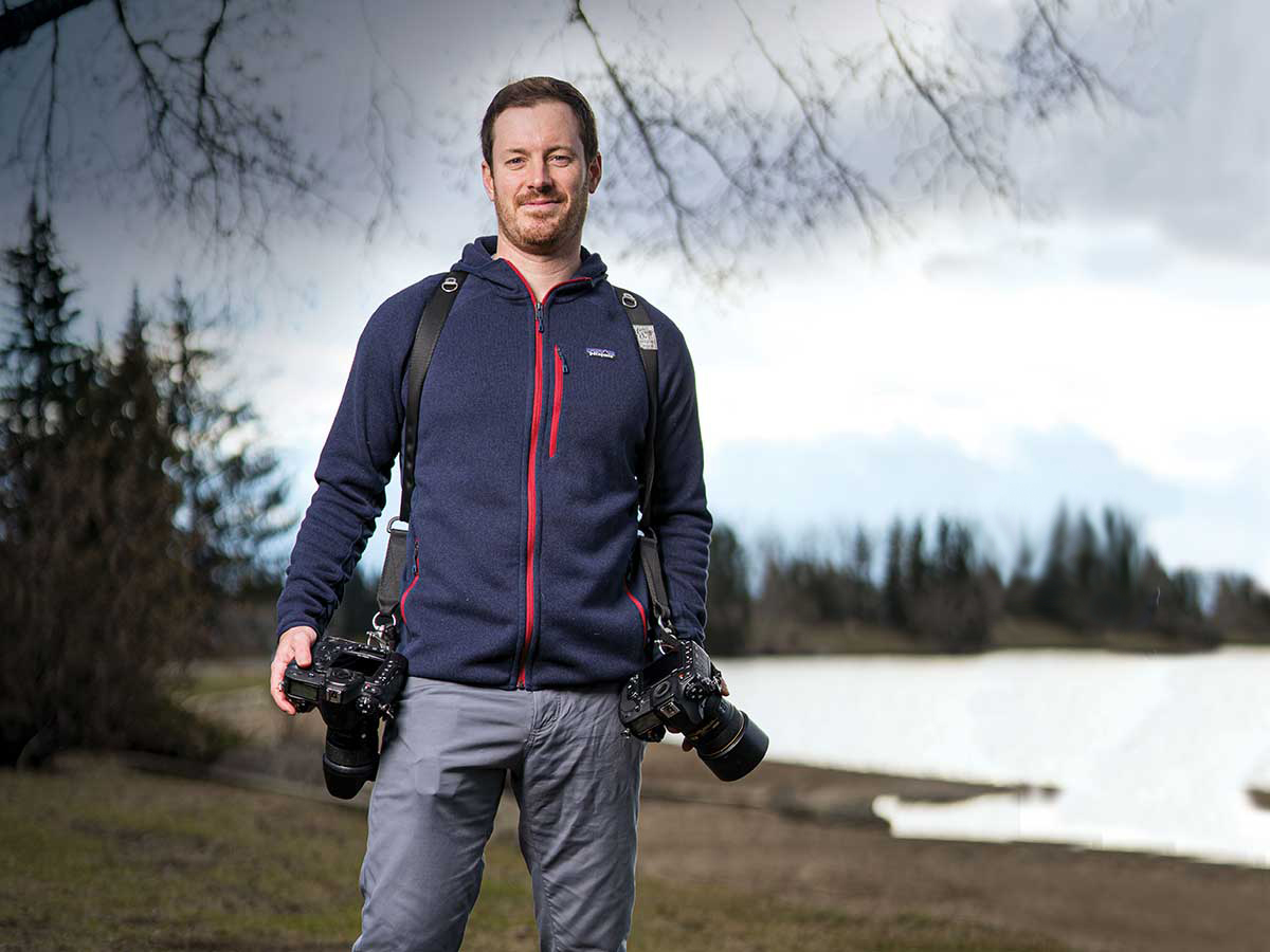 portrait of photographer and CPA Ross Dance