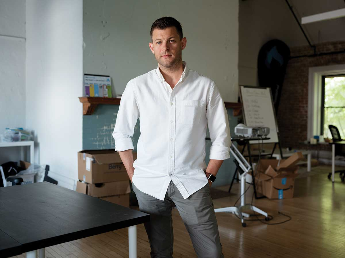 Portrait of Kevin Oulds, co-founder of 'Willful'
