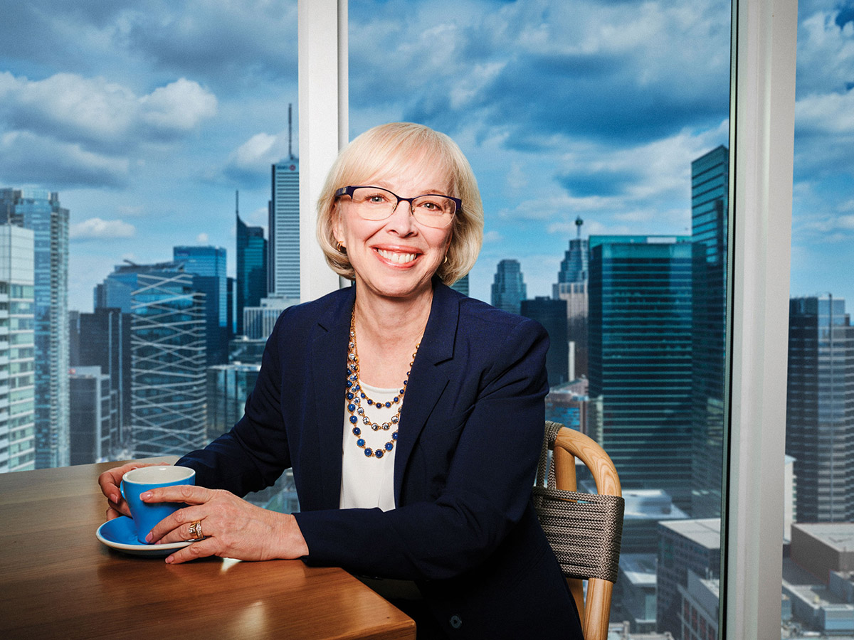 Portrait of Joy Thomas, president and CEO of CPA Canada