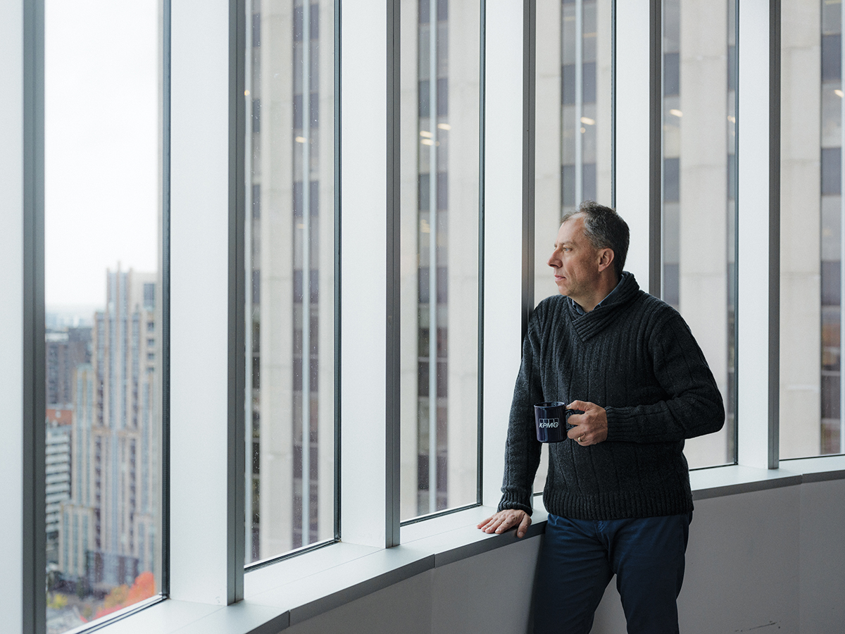 Portrait of Denis Trottier, KPMG's chief mental health officer