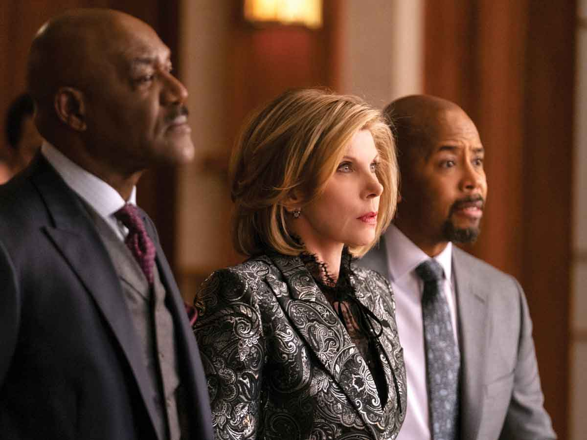 Shot from the TV show The Good Fight