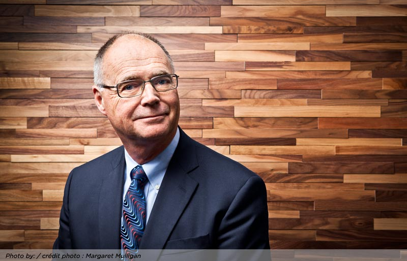 An close crop image of Kevin Dancey, FCPA, FCA, CPA Canada President and CEO.