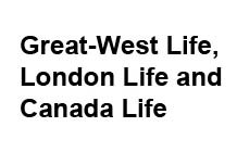 Great-West Life, London Life and Canada Life.