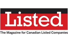 Listed: The magazine for Canadian listed companies