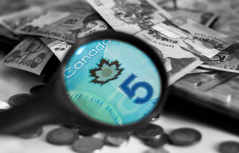 Counterfeit cash in Canada