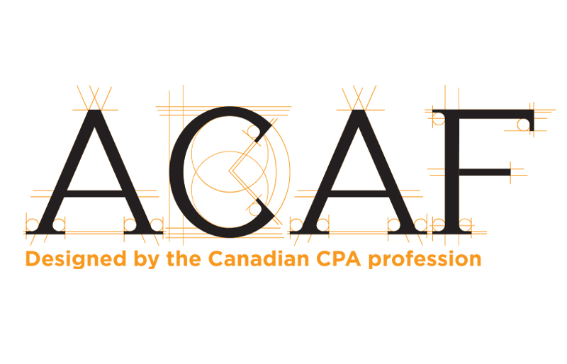 ACAF logo (in English)