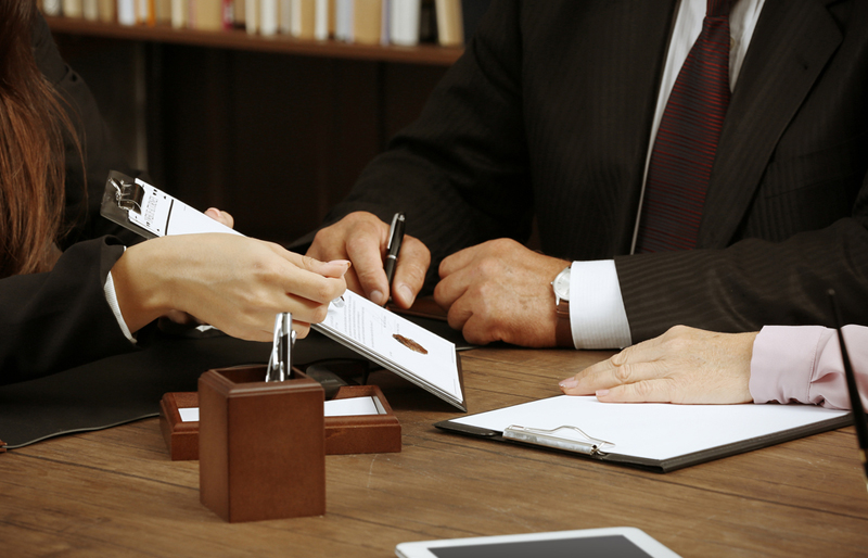 Power of attorney, signing documents