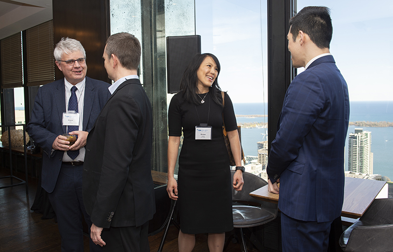 photo taken at a CPA Canada event with CPA employees