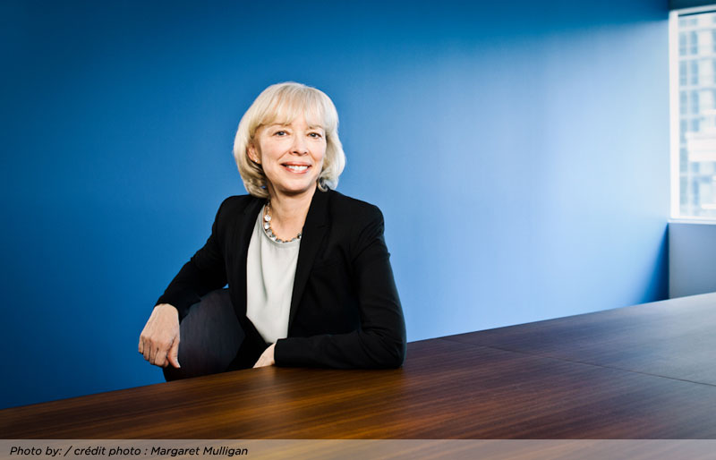 Interview with Joy Thomas, new president and CEO of CPA Canada
